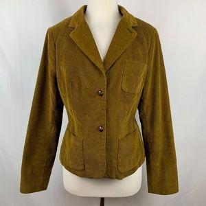 Boden Women's Corduroy Blazer Brown Jacket Sz 10R